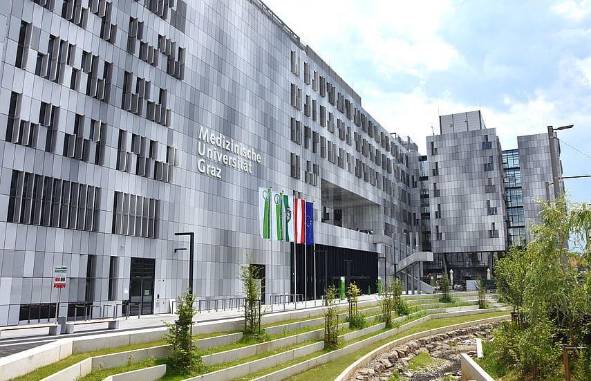 Med Uni Graz von außen