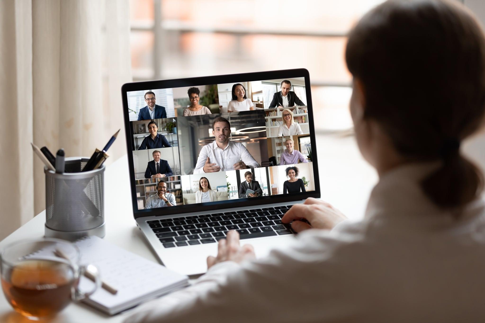 Videokonferenz von Zuhause