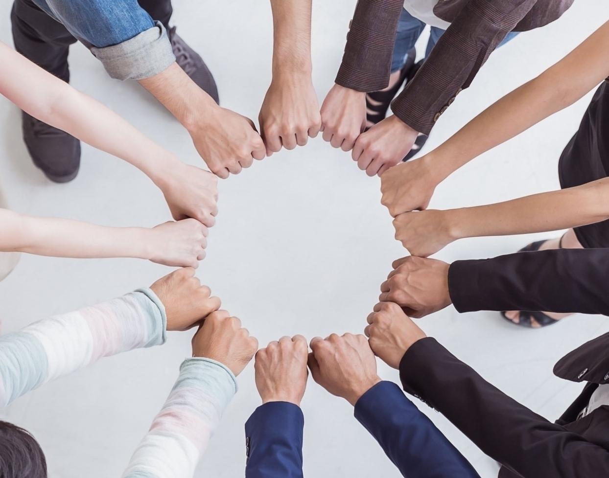 Zusammenhalt einer Arbeitsgruppe